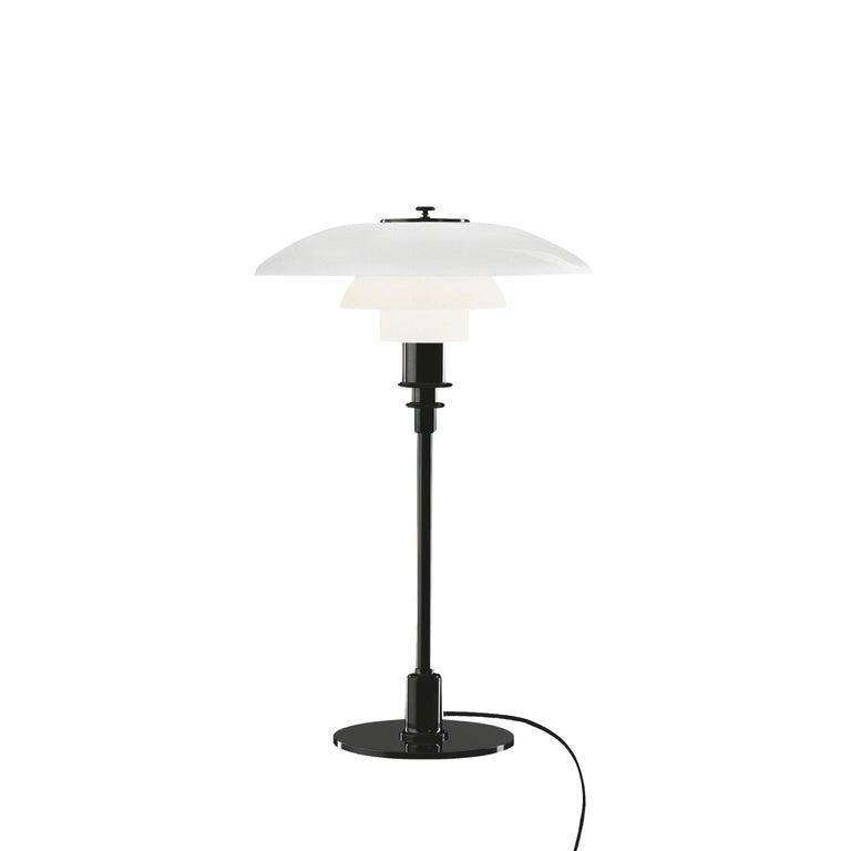 For Sale: Black (black.jpg) Louis Poulsen PH 3/2 Table Light by Poul Henningsen