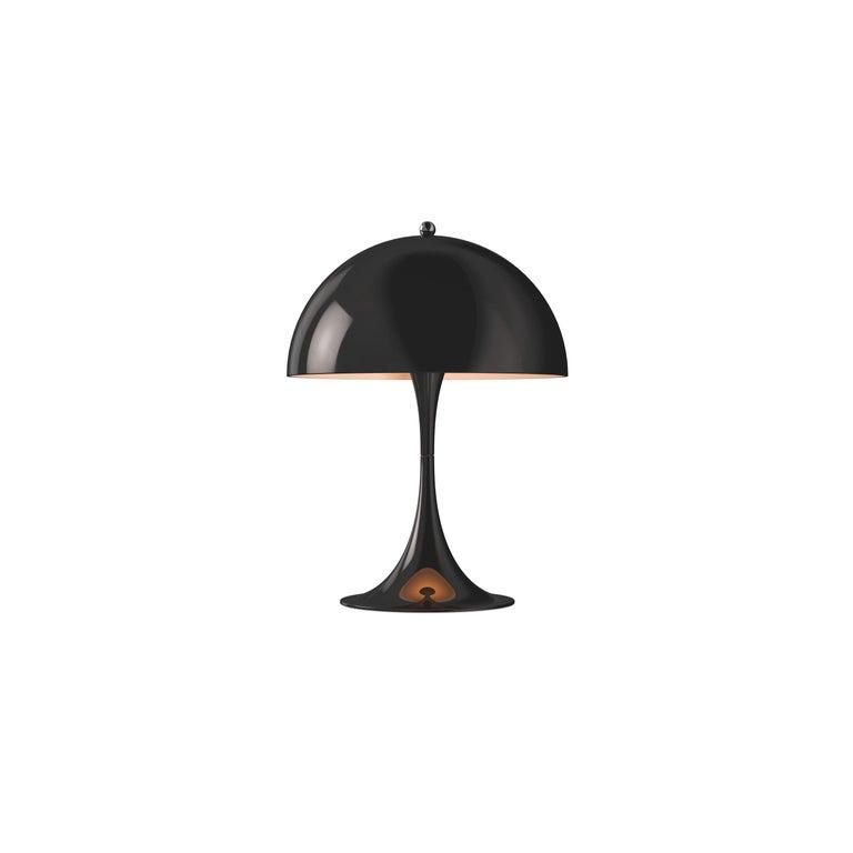 For Sale: Black (black.jpg) Louis Poulsen Panthella Mini Table Lamp by Verner Panton