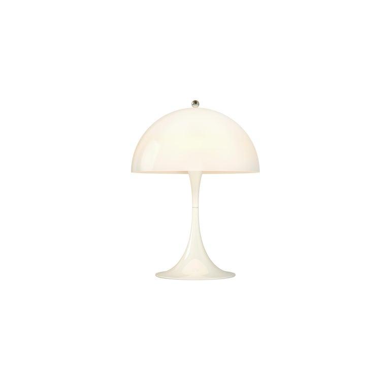 For Sale: White (opal.jpg) Louis Poulsen Panthella Mini Table Lamp by Verner Panton