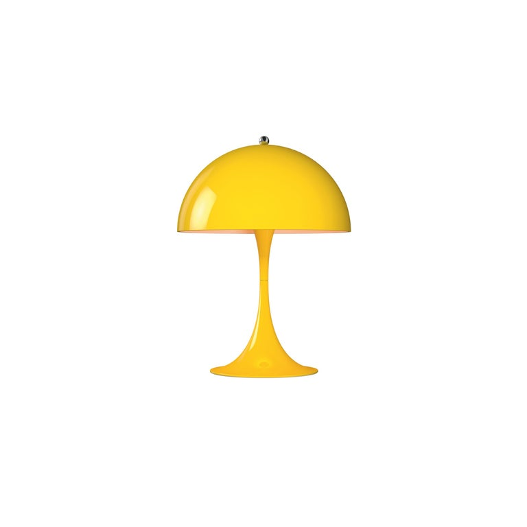 For Sale: Yellow (yellow.jpg) Louis Poulsen Panthella Mini Table Lamp by Verner Panton