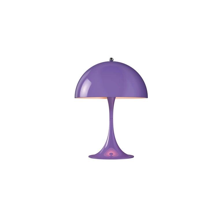 For Sale: Purple (violet.jpg) Louis Poulsen Panthella Mini Table Lamp by Verner Panton