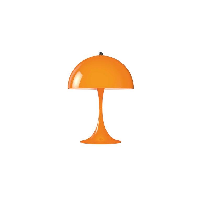 For Sale: Orange (orange.jpg) Louis Poulsen Panthella Mini Table Lamp by Verner Panton