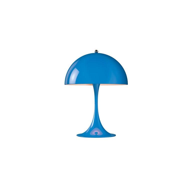 For Sale: Blue (blue.jpg) Louis Poulsen Panthella Mini Table Lamp by Verner Panton