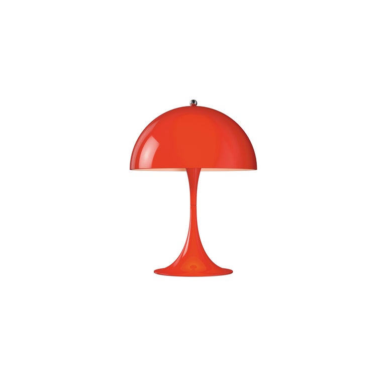 For Sale: Red (red.jpg) Louis Poulsen Panthella Mini Table Lamp by Verner Panton