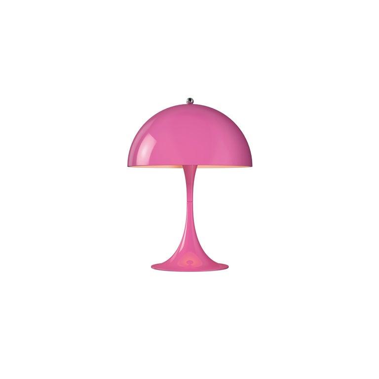 For Sale: Pink (pink.jpg) Louis Poulsen Panthella Mini Table Lamp by Verner Panton