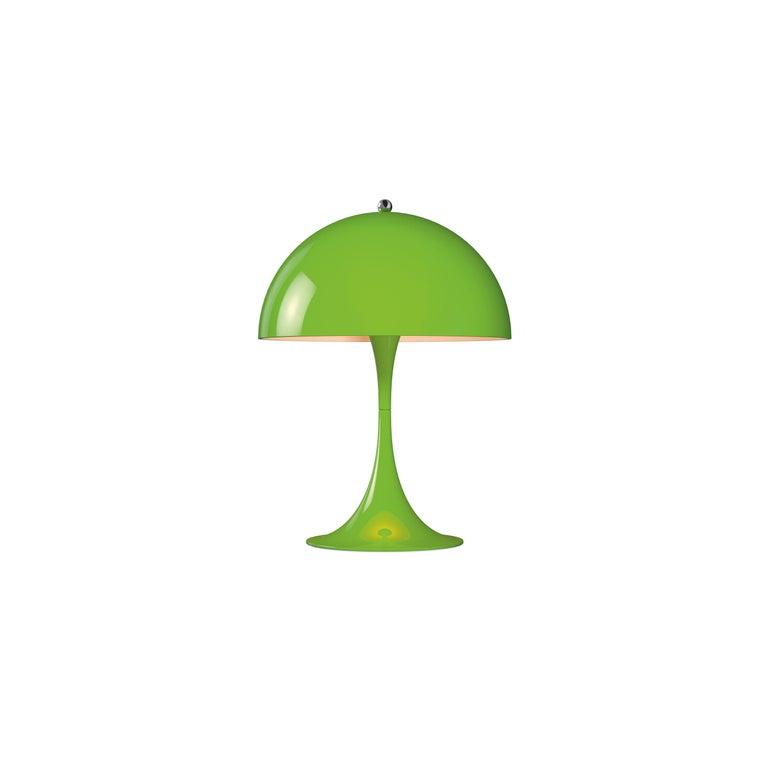 For Sale: Green (yellow green.jpg) Louis Poulsen Panthella Mini Table Lamp by Verner Panton