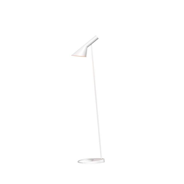 For Sale: White (white.jpg) Louis Poulsen AJ Floor Lamp by Arne Jacobsen