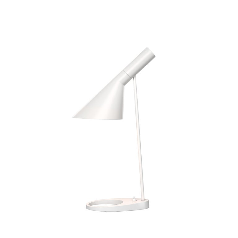 For Sale: White (white.jpg) Louis Poulsen AJ Table Lamp by Arne Jacobsen