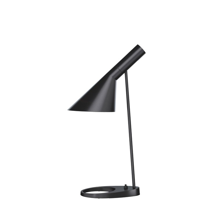 For Sale: Black (black.jpg) Louis Poulsen AJ Table Lamp by Arne Jacobsen
