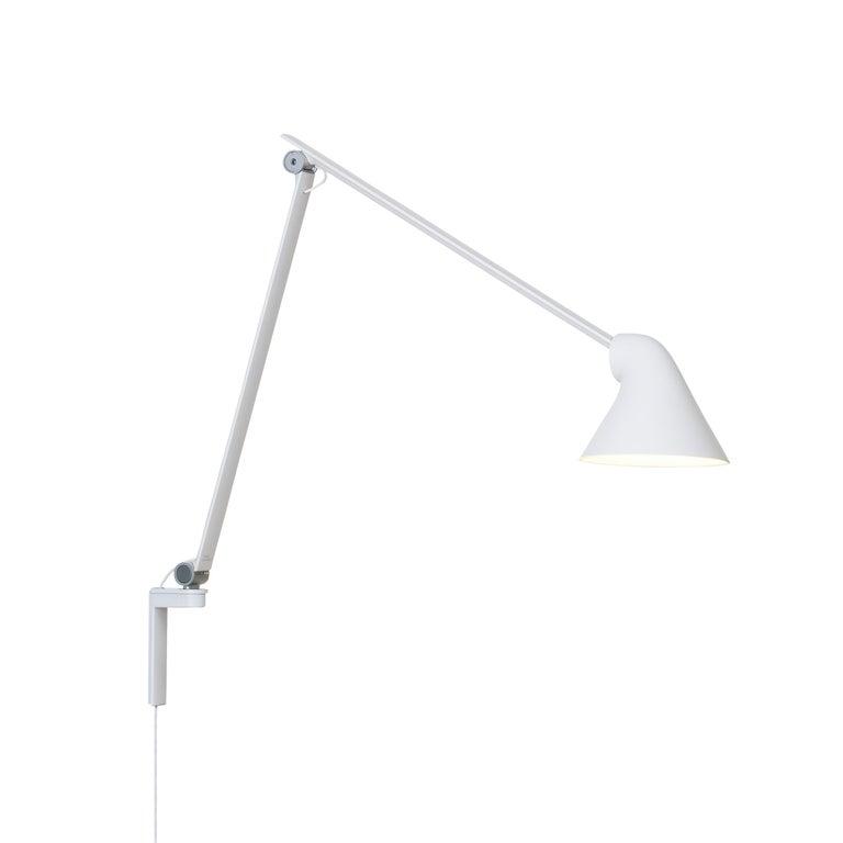 For Sale: White (white.jpg) Louis Poulsen NJP Wall Long Lamp by Nendo, Oki Sato