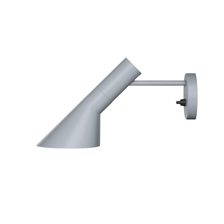 For Sale: Gray (light grey.jpg) Louis Poulsen AJ Wall Lights by Arne Jacobsen