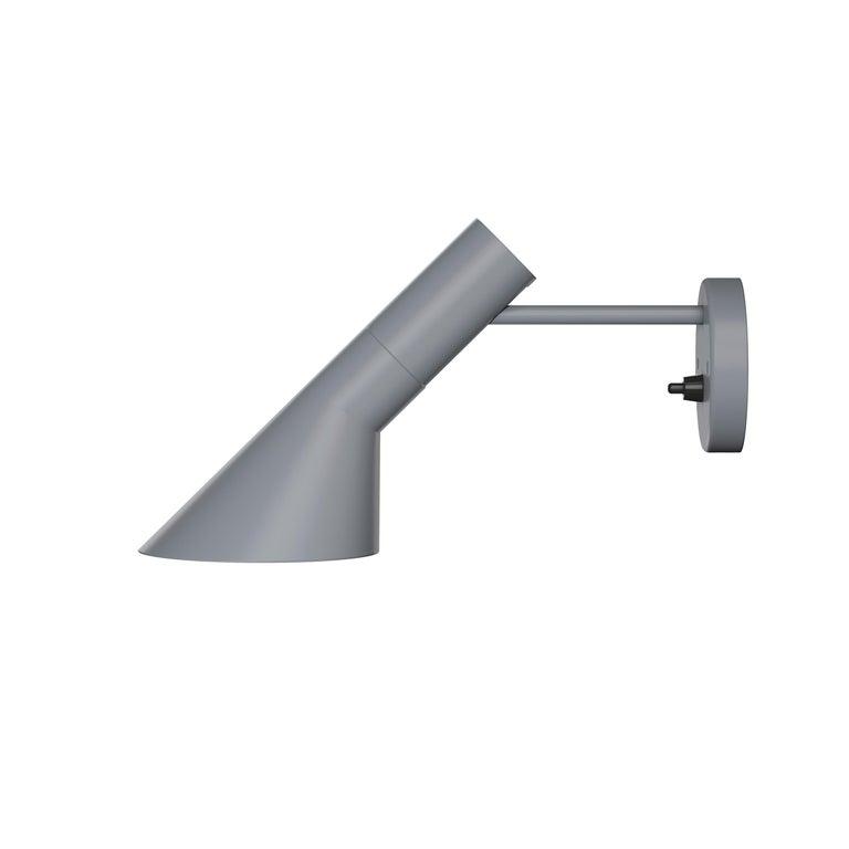 For Sale: Gray (dark grey.jpg) Louis Poulsen AJ Wall Lights by Arne Jacobsen