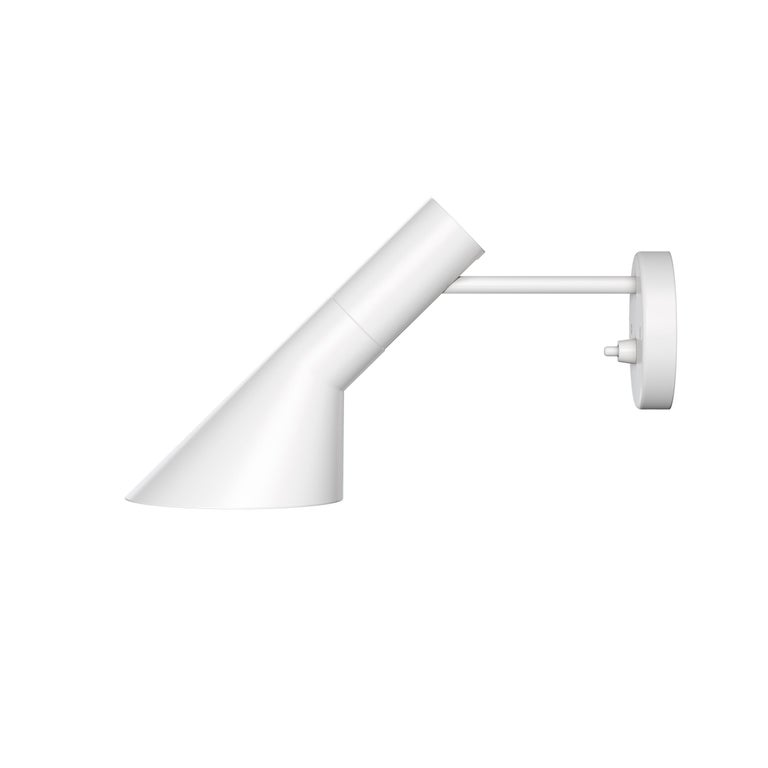 For Sale: White (white.jpg) Louis Poulsen AJ Wall Lights by Arne Jacobsen