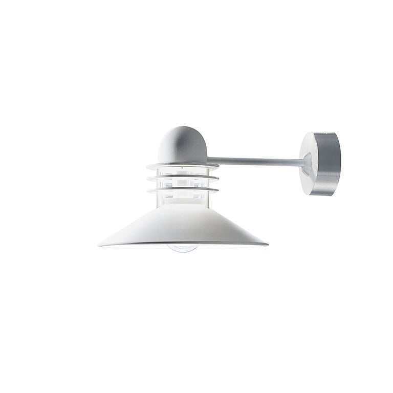 For Sale: White (white.jpg) Louis Poulsen Outdoor Nyhavn Wall Light by Alfred Homann