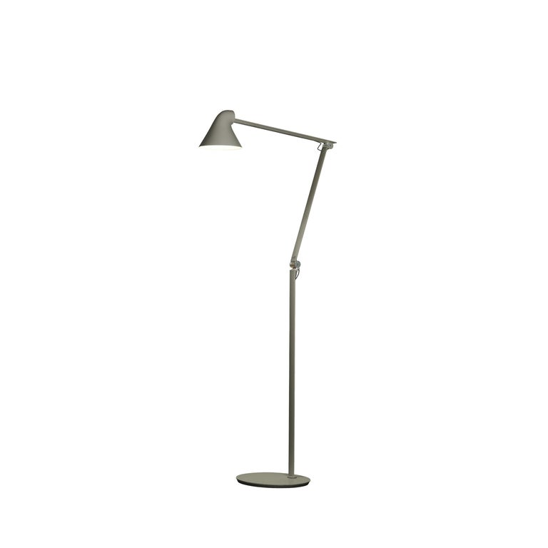 For Sale: Gray (dark aluminum grey.jpg) Louis Poulsen NJP Floor Lamp by Nendo, Oki Sato