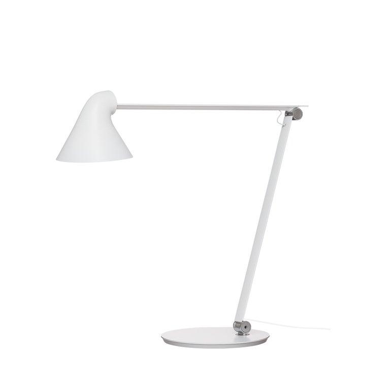 For Sale: White (white.jpg) Louis Poulsen NJP Table Lamp by Nendo, Oki Sato