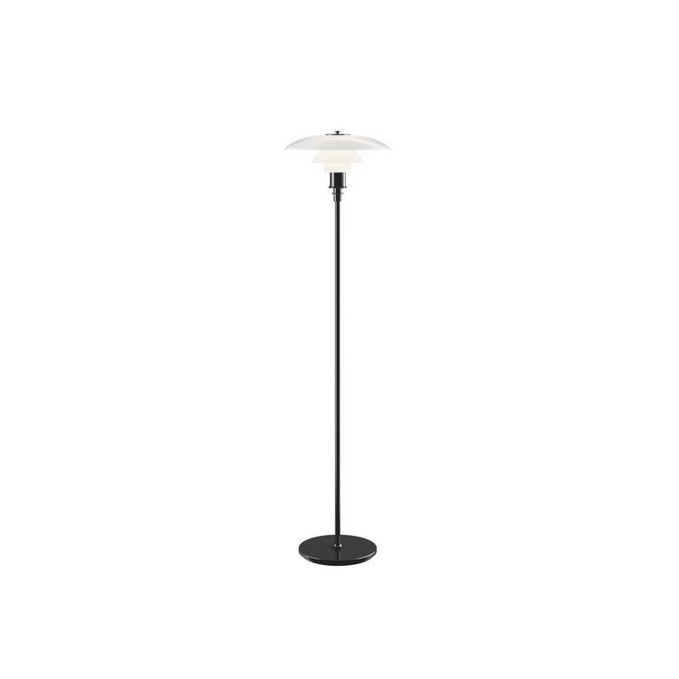 For Sale: Black (black.jpg) Louis Poulsen PH 3½-2½ Floor Lamp by Poul Henningsen