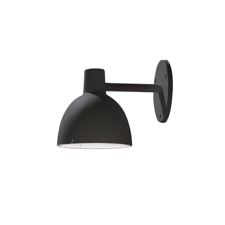 For Sale: Black (black.jpg) Toldbod Outdoor Wall Lamp by Louis Poulsen