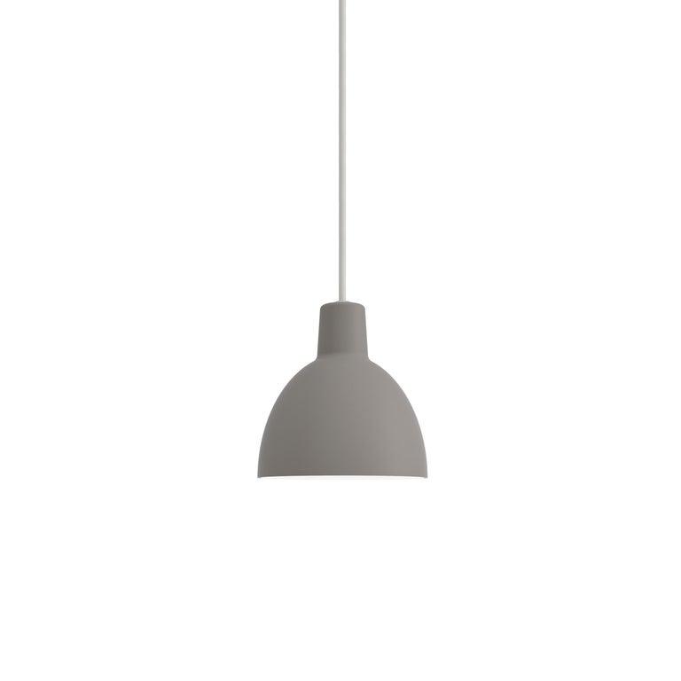 For Sale: Gray (toldbod grey.jpg) Toldbod 120 Pendant Lamp by Louis Poulsen
