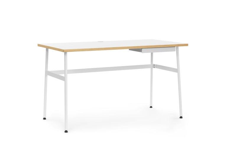For Sale: White (Journal Desk White) Normann Copenhagen Journal Desk by Simon Legald 2