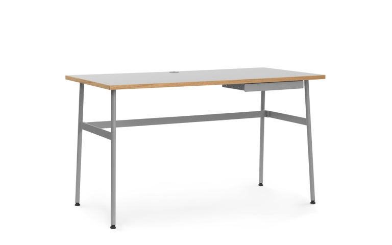 For Sale: Gray (Journal Desk Grey) Normann Copenhagen Journal Desk by Simon Legald 2