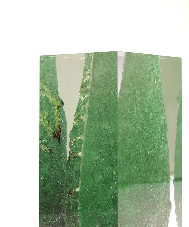 For Sale: Green (Emerald) Jumbo Group/JCP Universe Glacoja Vase by Analogia Project 3