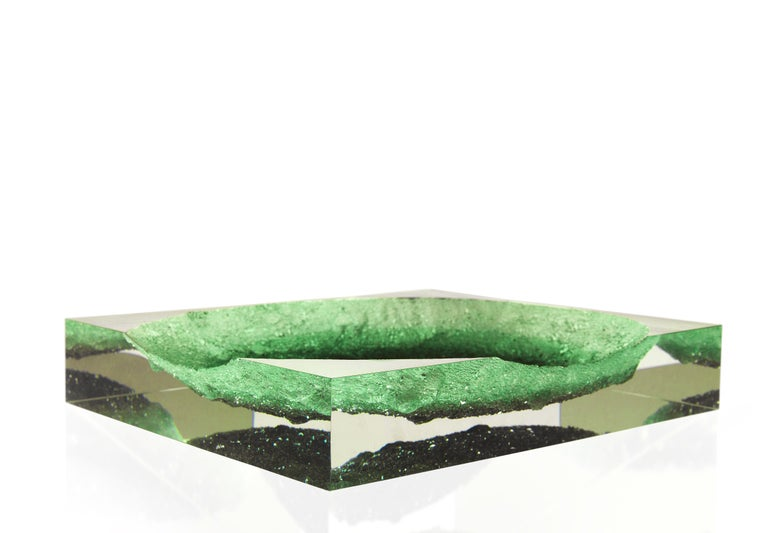 For Sale: Green (Emerald) Jumbo Group/JCP Universe Glacoja Centerpiece by Analogia Project 2