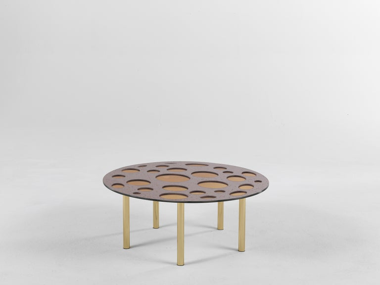 For Sale: Pink (Pink Star Dust) Jumbo Group/JCP Universe Small Venny Coffee Table by Matteo Cibic 2
