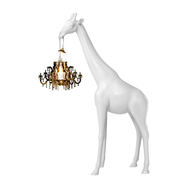For Sale: White Qeeboo Giraffe in Love XS Lamp by Marcantonio