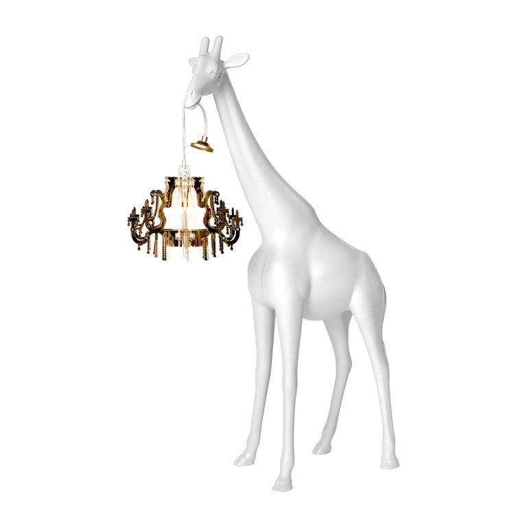 For Sale: White Qeeboo Giraffe in Love XS Lamp by Marcantonio 2