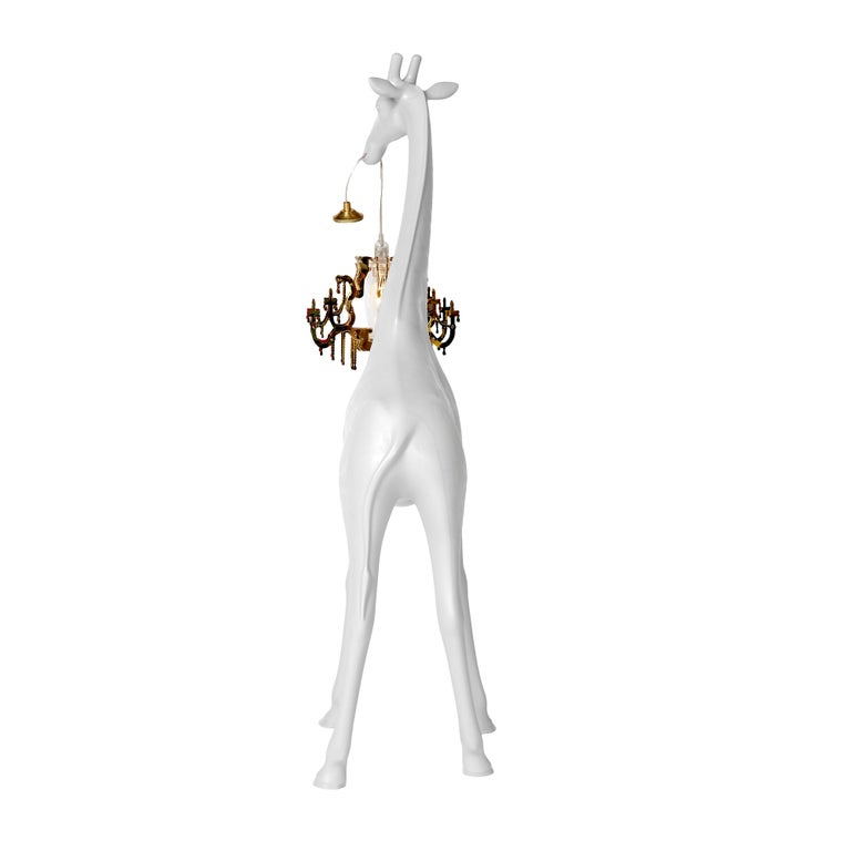 For Sale: White Qeeboo Giraffe in Love XS Lamp by Marcantonio 4