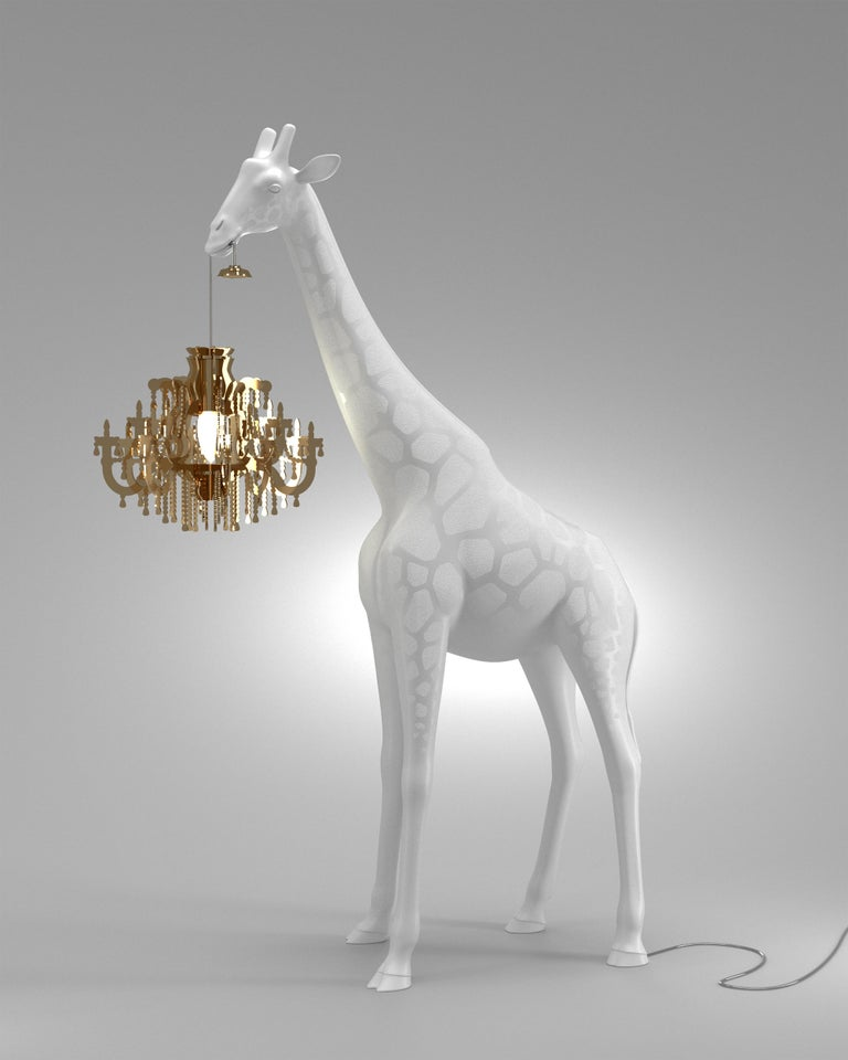 For Sale: White Qeeboo Giraffe in Love XS Lamp by Marcantonio 5