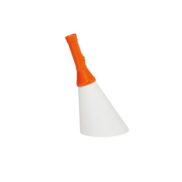 For Sale: Orange Modern Black Purple Red Orange Yellow Green White Flashlight Table Lamp