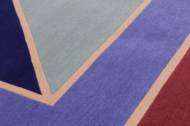 For Sale: Purple (2019) Visioni A Rug by Patricia Urquiola for CC-Tapis 2