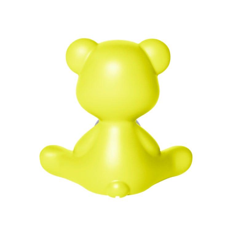 For Sale: Green (Lime) Modern Purple Green Orange Pink White Blue Black or Yellow Teddy Bear Table Lamp 7