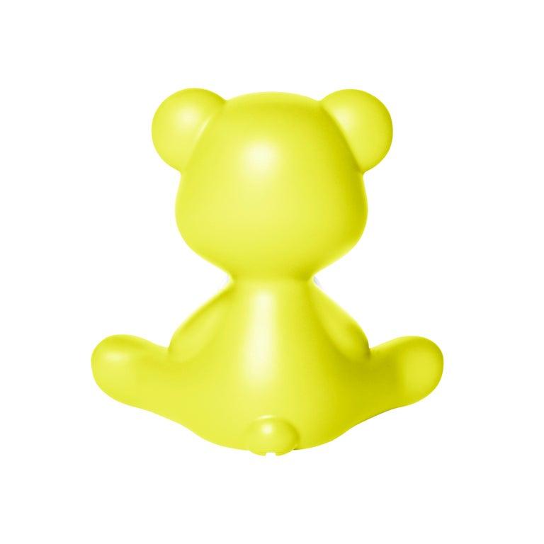 For Sale: Green (Lime) Modern Purple Green Orange Pink White Blue Black or Yellow Teddy Bear Table Lamp 8