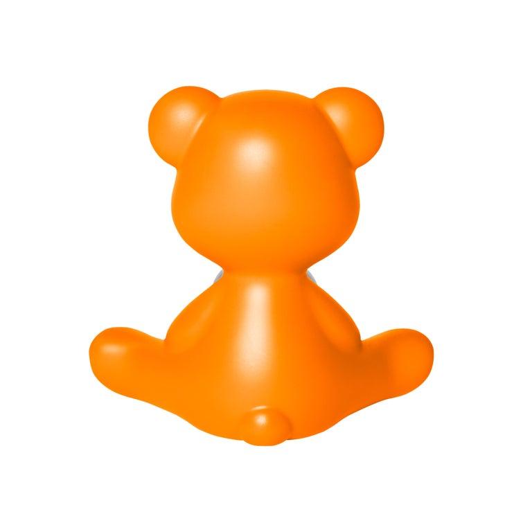 For Sale: Orange Modern Purple Green Orange Pink White Blue Black or Yellow Teddy Bear Table Lamp 7