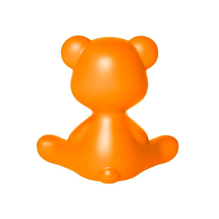 For Sale: Orange Modern Purple Green Orange Pink White Blue Black or Yellow Teddy Bear Table Lamp 8