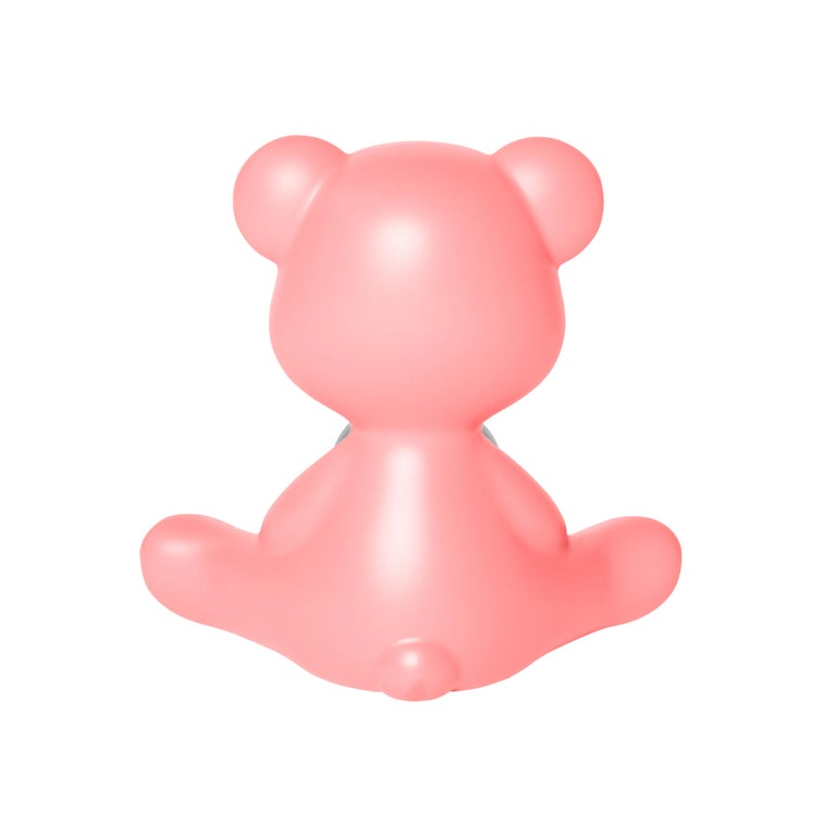 For Sale: Pink (Bright Pink) Modern Purple Green Orange Pink White Blue Black or Yellow Teddy Bear Table Lamp 7