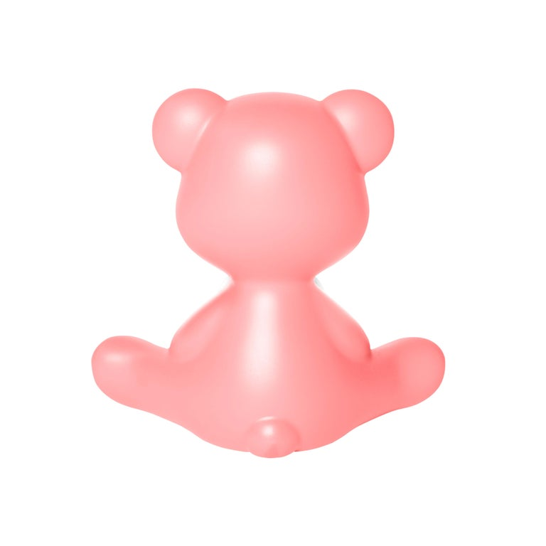 For Sale: Pink (Bright Pink) Modern Purple Green Orange Pink White Blue Black or Yellow Teddy Bear Table Lamp 8