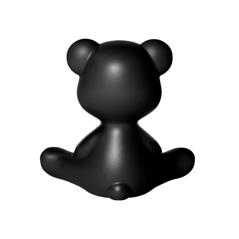 For Sale: Black Modern Purple Green Orange Pink White Blue Black or Yellow Teddy Bear Table Lamp 8