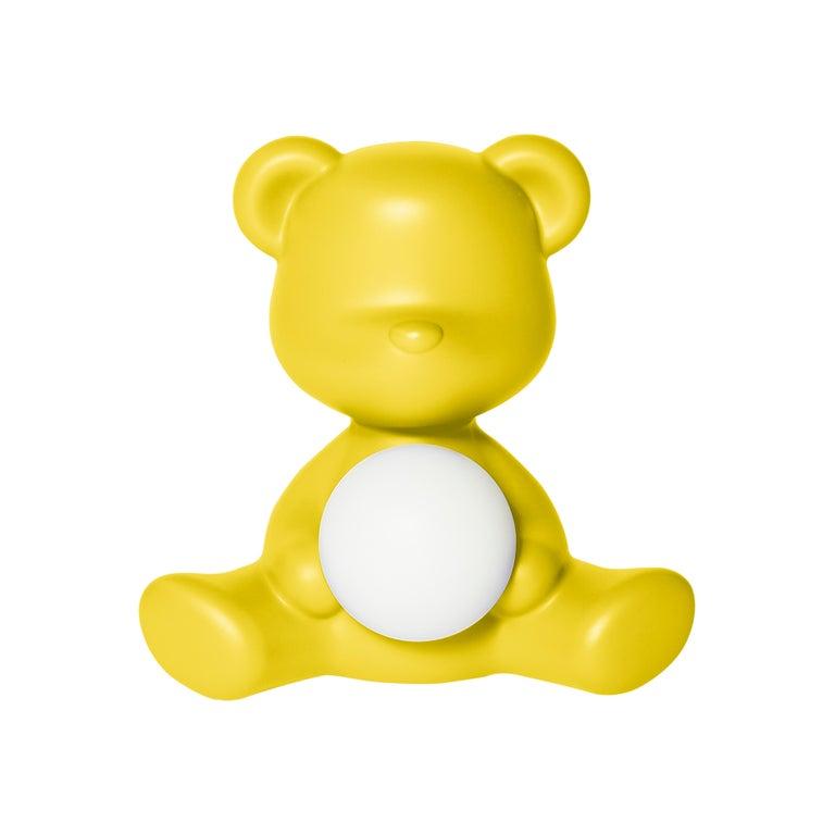 For Sale: Yellow Modern Purple Green Orange Pink White Blue Black or Yellow Teddy Bear Table Lamp