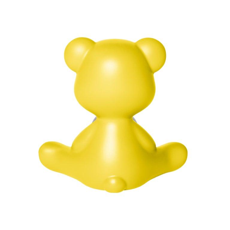For Sale: Yellow Modern Purple Green Orange Pink White Blue Black or Yellow Teddy Bear Table Lamp 4