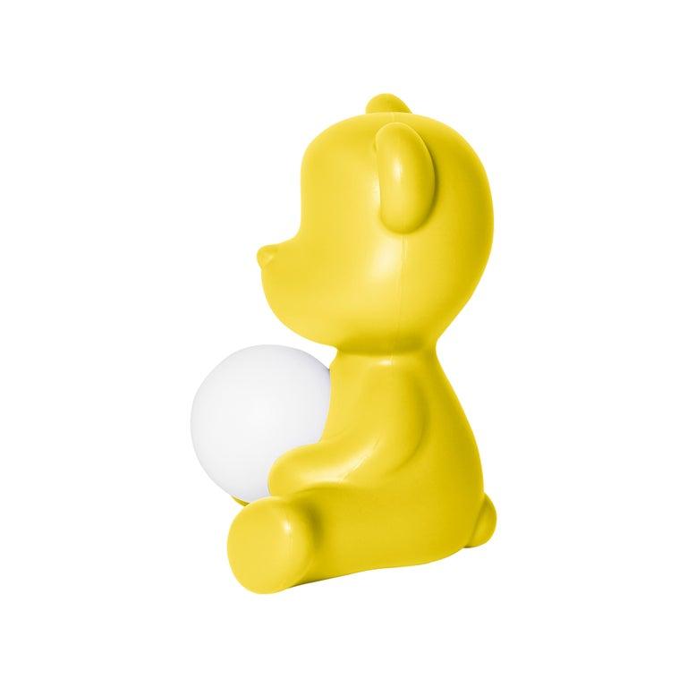 For Sale: Yellow Modern Purple Green Orange Pink White Blue Black or Yellow Teddy Bear Table Lamp 6