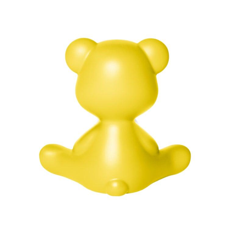 For Sale: Yellow Modern Purple Green Orange Pink White Blue Black or Yellow Teddy Bear Table Lamp 8