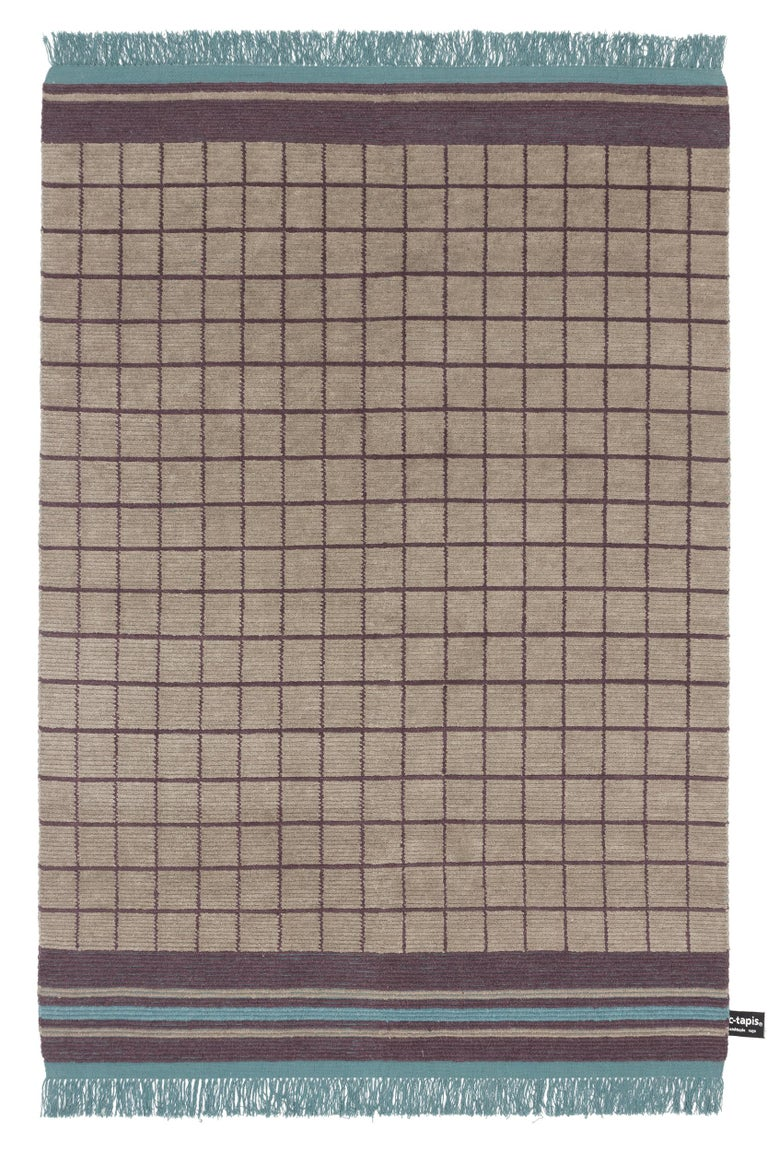 For Sale: Brown (#5) Quadro Celeste A Rug by Studiopepe for CC-Tapis