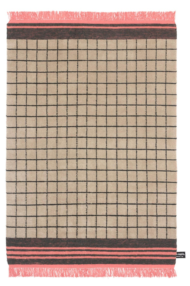 For Sale: Beige (#15) Quadro Celeste A Rug by Studiopepe for CC-Tapis