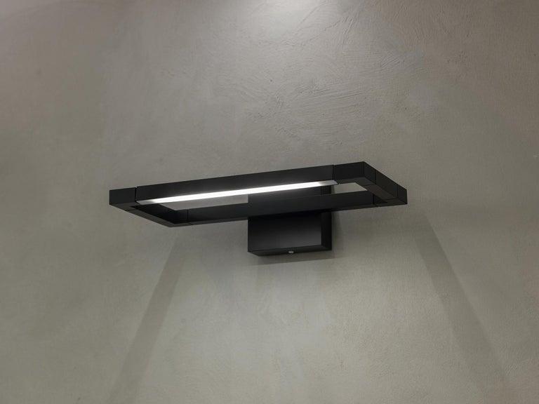 For Sale: Black Nemo Spigolo Wall Lamp LED 2700K by Studiocharlie 2