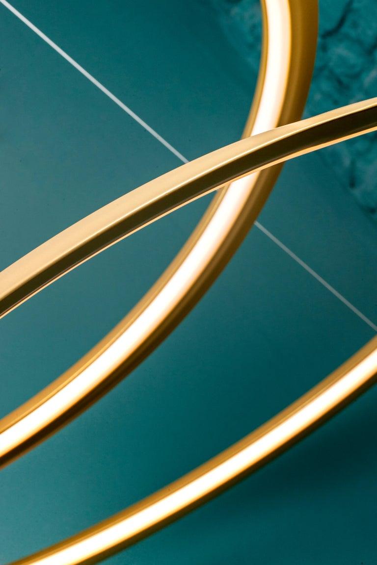 For Sale: Gold Nemo Kepler Downlight LED 3000K Dimmable Pendant Lamp by Arihiro Miyake 4