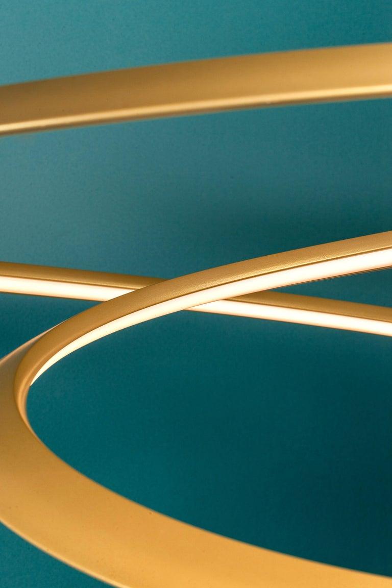 For Sale: Gold Nemo Kepler Downlight LED 3000K Dimmable Pendant Lamp by Arihiro Miyake 6